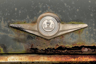 Photograph - Checker Emblem by Steve Gravano