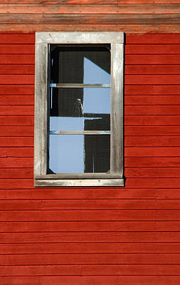 Photograph - Checker Window by Paul DeRocker