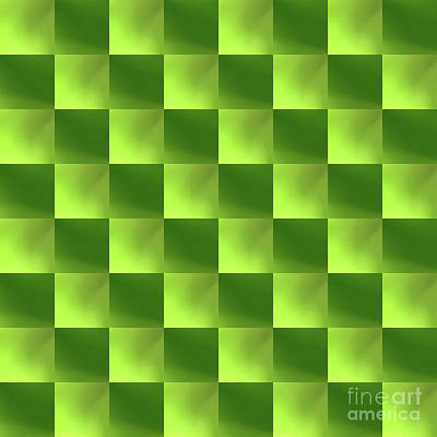 Digital Art - Checkerboard by Jimmy Hines