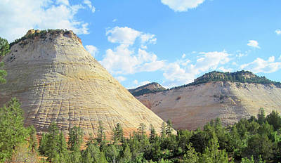 Photograph - Checkerboard Mesa 2 by Ellen Henneke