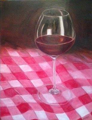 Painting - Checkered Past by Irene Corey