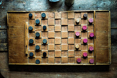 Photograph - Checkers Anyone by M G Whittingham