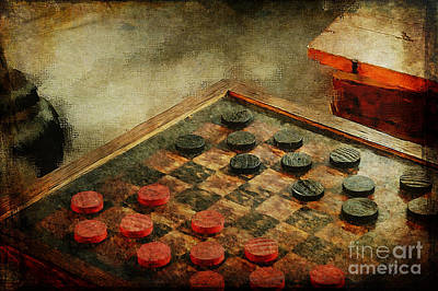 Photograph - Checkers by Lois Bryan