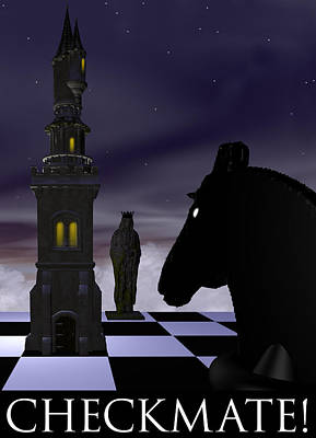 Checkmate Art Print by David Griffith