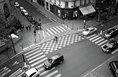 Photograph - Checkmate, Paris by Jean Gill