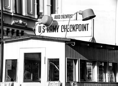 Photograph - Checkpoint Charlie by John Rizzuto