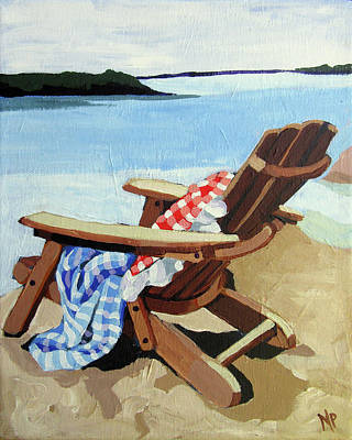 Painting - Checks And Stripes by Melinda Patrick