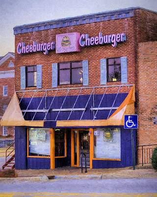 Photograph - Cheeburger Cheeburger by JC Findley