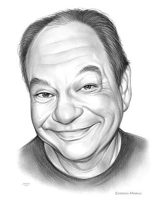 Drawing - Cheech by Greg Joens