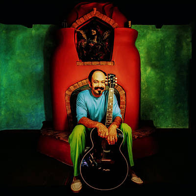 Chicano Photograph - Cheech Marin by YoPedro