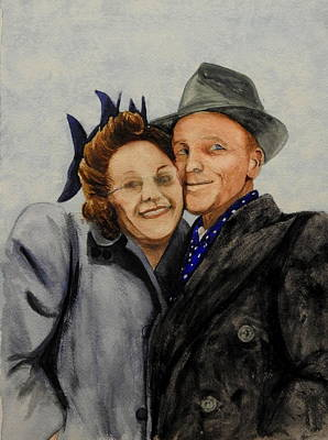 Painting - Cheek To Cheek by Betty-Anne McDonald