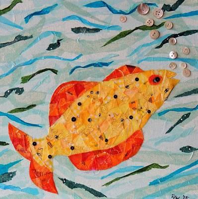 Cheeky Fish #3 Art Print