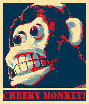 Photograph - Cheeky Monkey by Richard Reeve