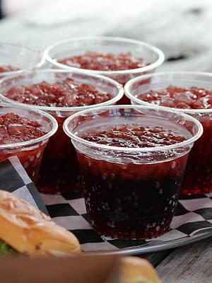 Cherry Coke Photograph - Cheer Wine by Robert Yaeger
