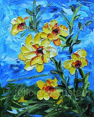 Painting - Cheerful by Felicia Weinstein