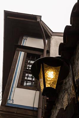 Photograph - Cheerful Golden Light Brightens A Bleak Rainy Day by Georgia Mizuleva
