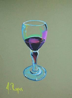Painting - Cheers by Angel Reyes