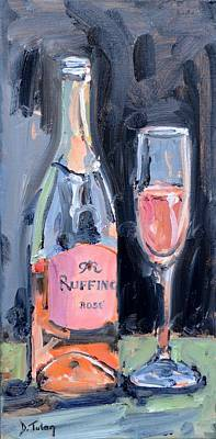 Painting - Cheers by Donna Tuten
