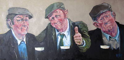 Painting - 'cheers' by Kevin McKrell