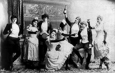 20s Photograph - Cheers Ladies by Jon Neidert