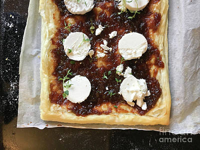 Photograph - Cheese And Chutney Pie by Tom Gowanlock