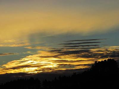 Photograph - Cheese Cutter Sky by Dianne  Connolly