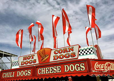Photograph - Cheese Dogs Galore by The Art of Alice Terrill