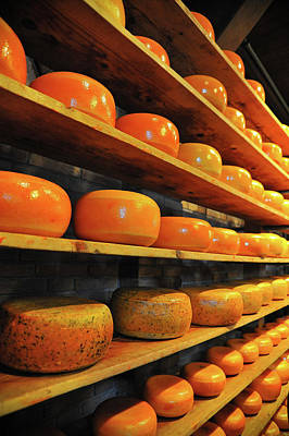 Art Print featuring the photograph Cheese In Holland by Harry Spitz