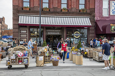 Photograph - Cheese Shop In Detroit  by John McGraw