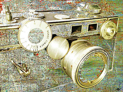 Vintage Camera Mixed Media - Cheese by Tony Rubino