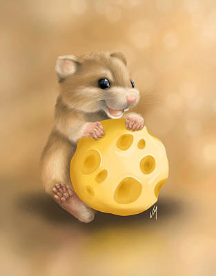Painting - Cheese by Veronica Minozzi