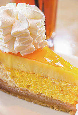 Photograph - Cheesecake #food #dessert #sweets by Andrea Anderegg
