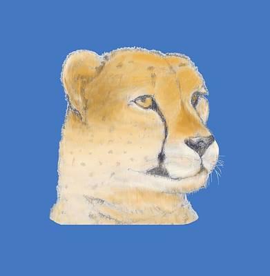 Cheetah Drawing - Cheetah 3 by Gilbert Pennison