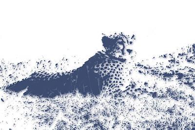 Cheetah Art Print by Joe Hamilton