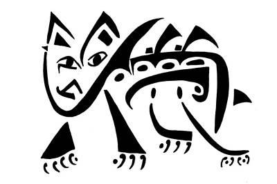 Cheetah Drawing - Cheetah by Mikkel Urup
