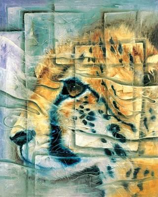 Quadro Painting - Cheetah by Naza