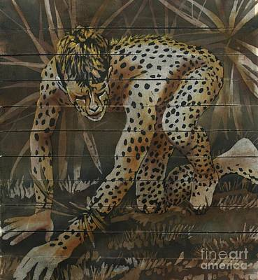 Painting - Cheetah by Robert D McBain