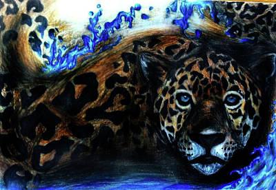 Cheetah Drawing - Cheetah20 by Brittany Sibert