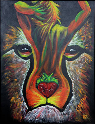 Cheetahh Original by Robert Kirsch