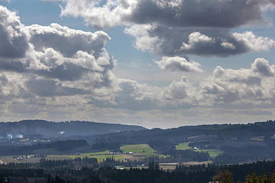 Photograph - Chehalem Mountains And Tualatin River Valley View by Jit Lim