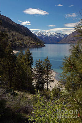 Photograph - Chelan Lake by Cindy Murphy - NightVisions