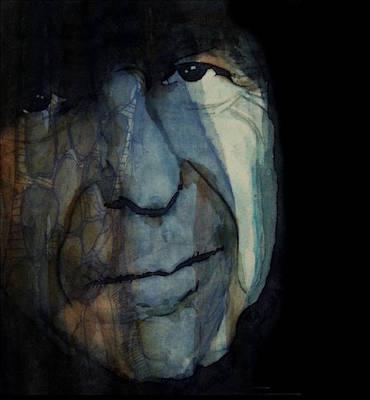 Chelsea Hotel - Leonard Cohen  Art Print