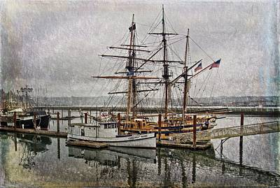 Photograph - Chelsea Rose And Tall Ships by Thom Zehrfeld