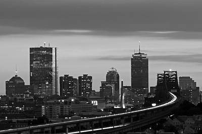 Photograph - Chelsea View Of Boston by Juergen Roth