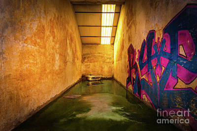 Destruction Mixed Media - Chemical Room by Svetlana Sewell