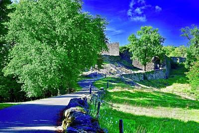 Claude Monet - Chemin Vers Le Chateau A by Atelier M-EGVA