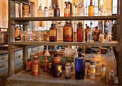 Photograph - Chemist - Motion Potion by Mike Savad
