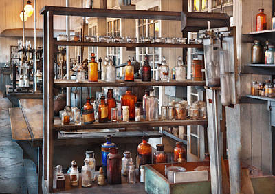 Photograph - Chemist - Where Science Comes From by Mike Savad