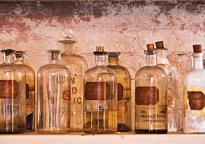 Photograph - Chemist - Deadly Acid by Mike Savad