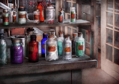 Photograph - Chemistry - Ready To Experiment  by Mike Savad